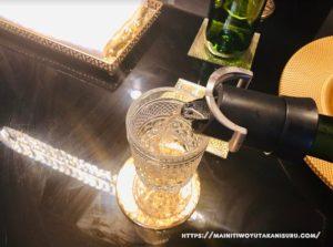 【注文住宅日記2020/9/15】シャンパン・ワインセーバーでドリンクをおしゃれに