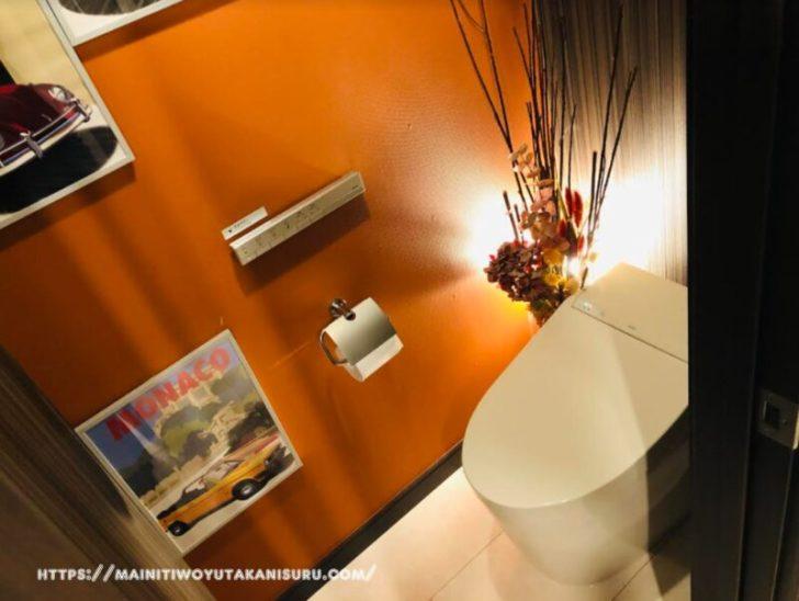 【入居後2年2ヵ月WEB内覧会】最終的にトイレにはIKEAさんの造花が飾られました