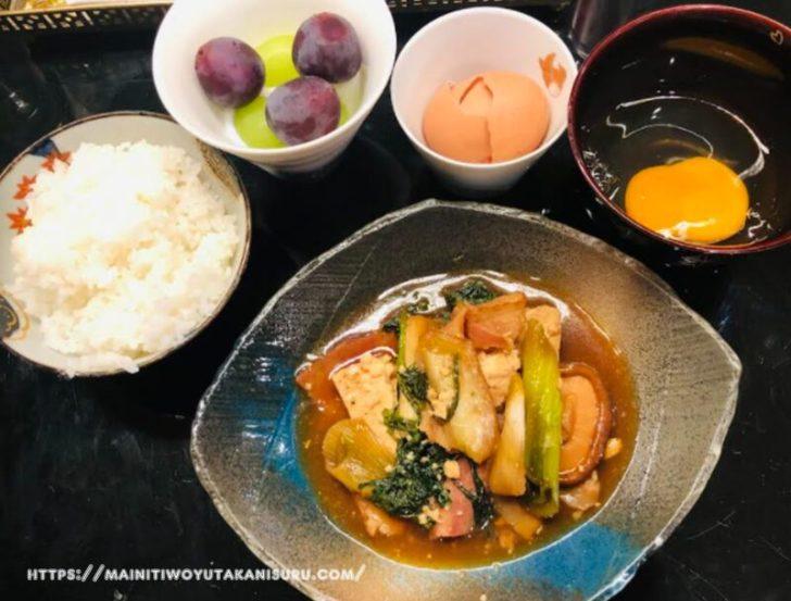 【注文住宅日記2021/10/4】先週の朝食・夕食の献立
