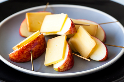 Image result for cheese and apple