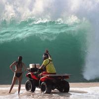 High Surf Advisory?  HEAD TO THE BEACH!