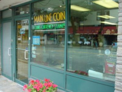 Main Line Coin & Stamp, Philadelphia Area Coin Shop