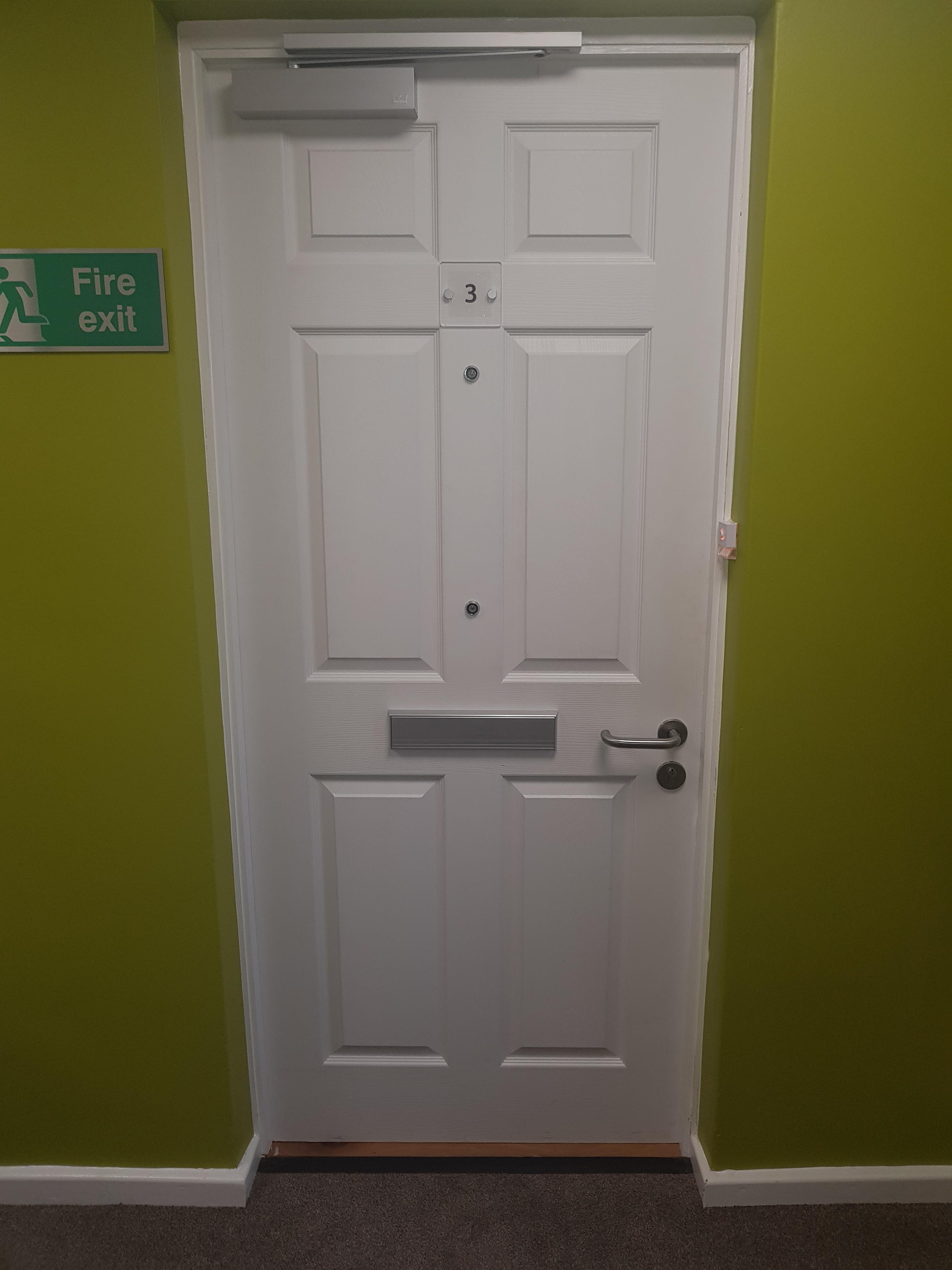 fire door install copy
