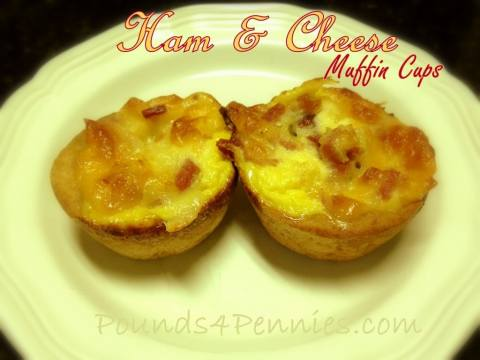 Ham and Cheese muffin cups