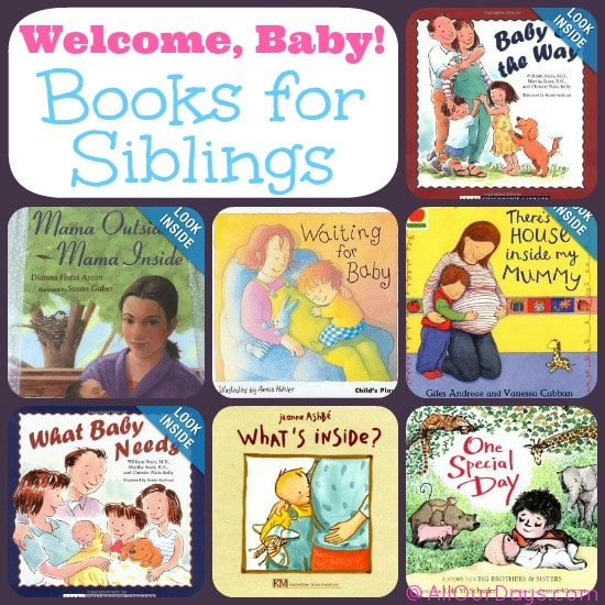 books for reading to siblins