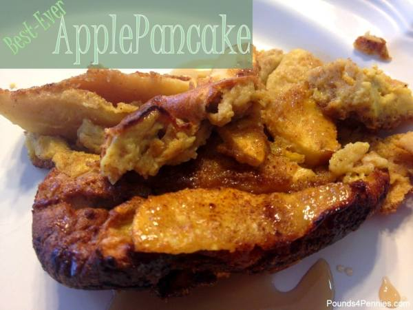 Best Ever Apple Pancake Recipe