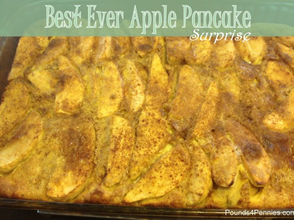 Best Ever apple pancake