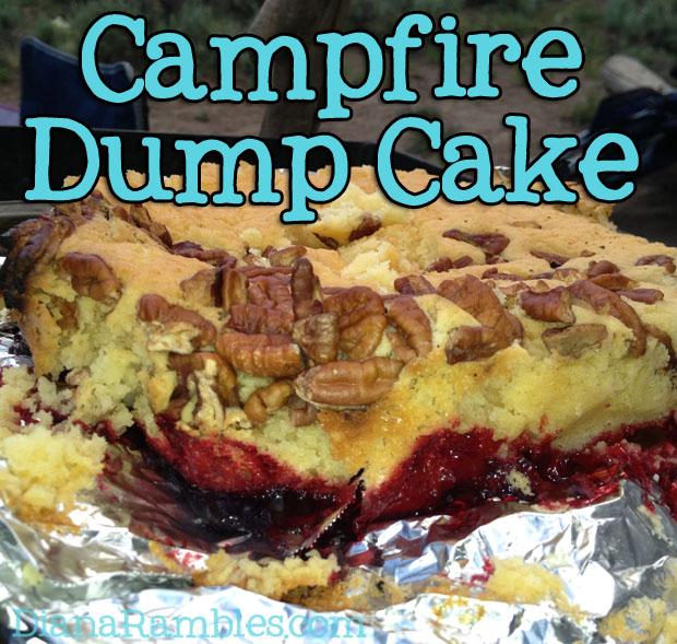 Campfire Dutch Oven Dump Cake Recipe