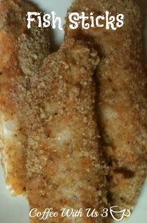 Healthier Fish Sticks for dinner