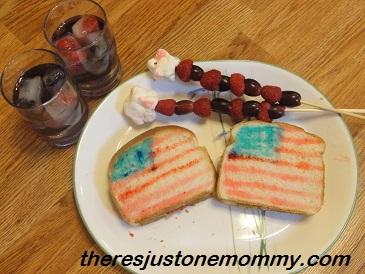 Sandwich idea for healthy lunch