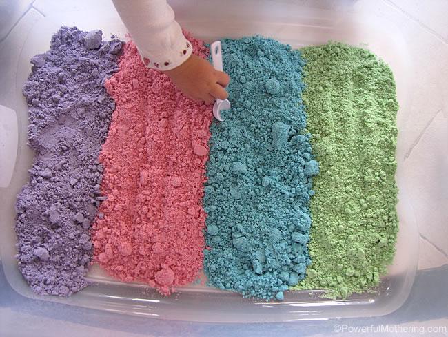 How to make Cloud Dough Recipe