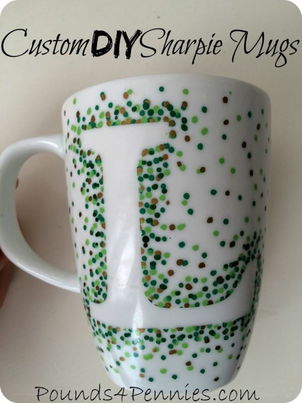 DIY Custom Sharpie Mugs - Pounds4Pennies