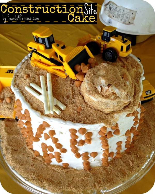 Admirable How To Make A Construction Cake For A Construction Party Funny Birthday Cards Online Alyptdamsfinfo
