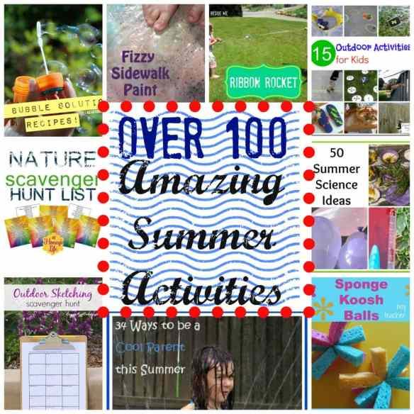 100 Amazing Summer Activities
