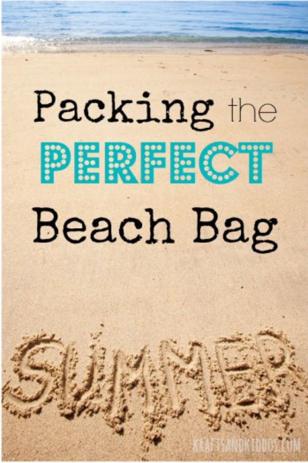 Beach Activities Packing the perfect beach bag