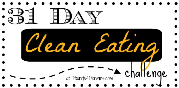 31 Day Clean Eating Challenge Title