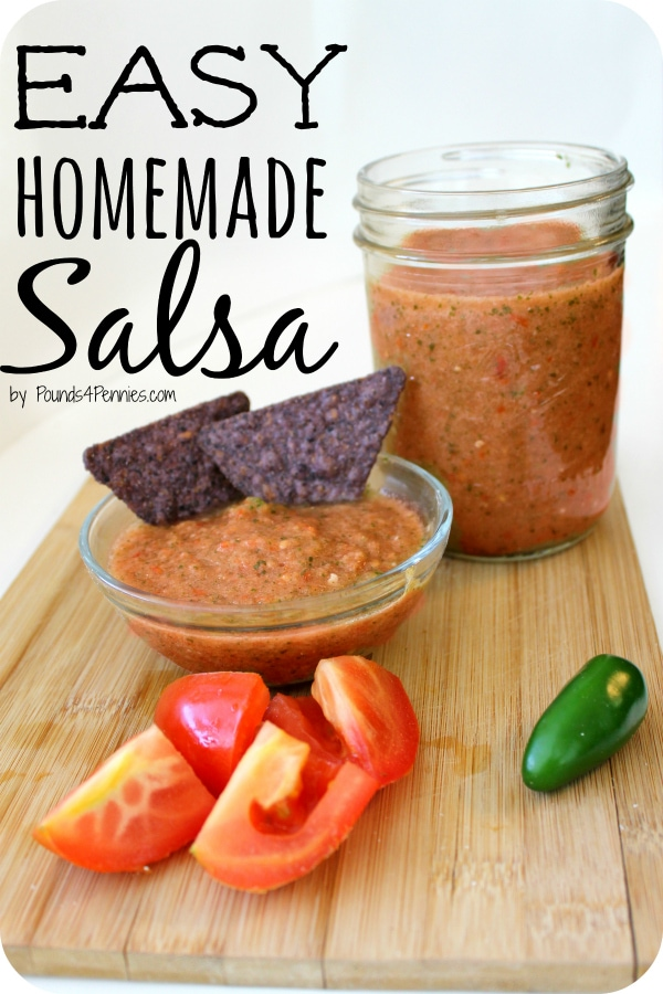 Fresh Easy Homemade Salsa Recipe