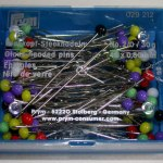 Prym Glass headed pins 48 x 0.8mm