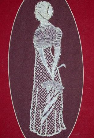 Miss Elizabeth Bennett - Lace Making Pattern