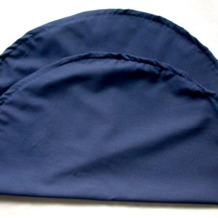 Drawstring pillow cover