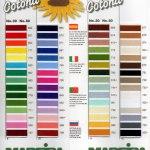 Cotona Colour chart