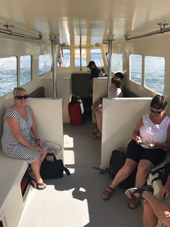 Boat Interior. (Photo: MainlyMiles)