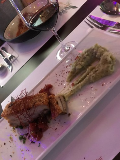 Crispy Pork Belly and Aussie Shiraz