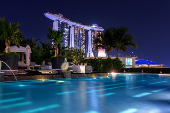 Mandarin Oriental Singapore Pool MBS