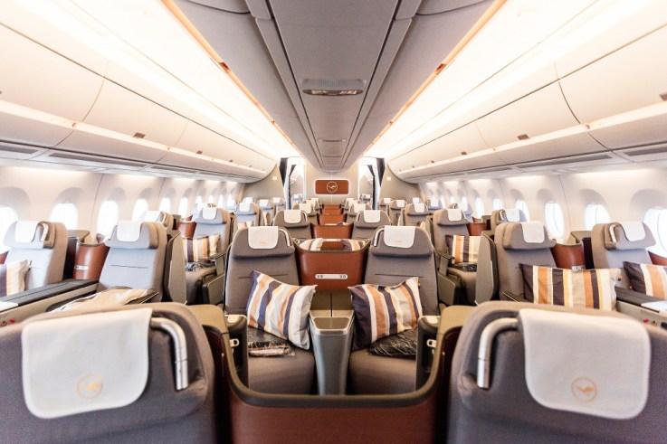 LH A350 J Cabin (Lufthansa Group)
