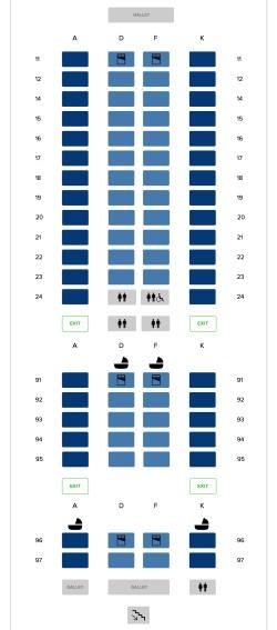 SIA Fleet: Airbus A380-800 (V3) – Mainly Miles