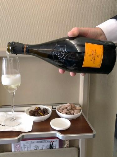 Qantas A380 First Class Champagne Bottle