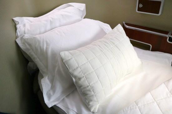 Qantas A380 First Class Pillows