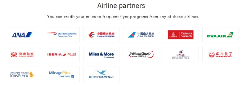Airline Partners Apr 18