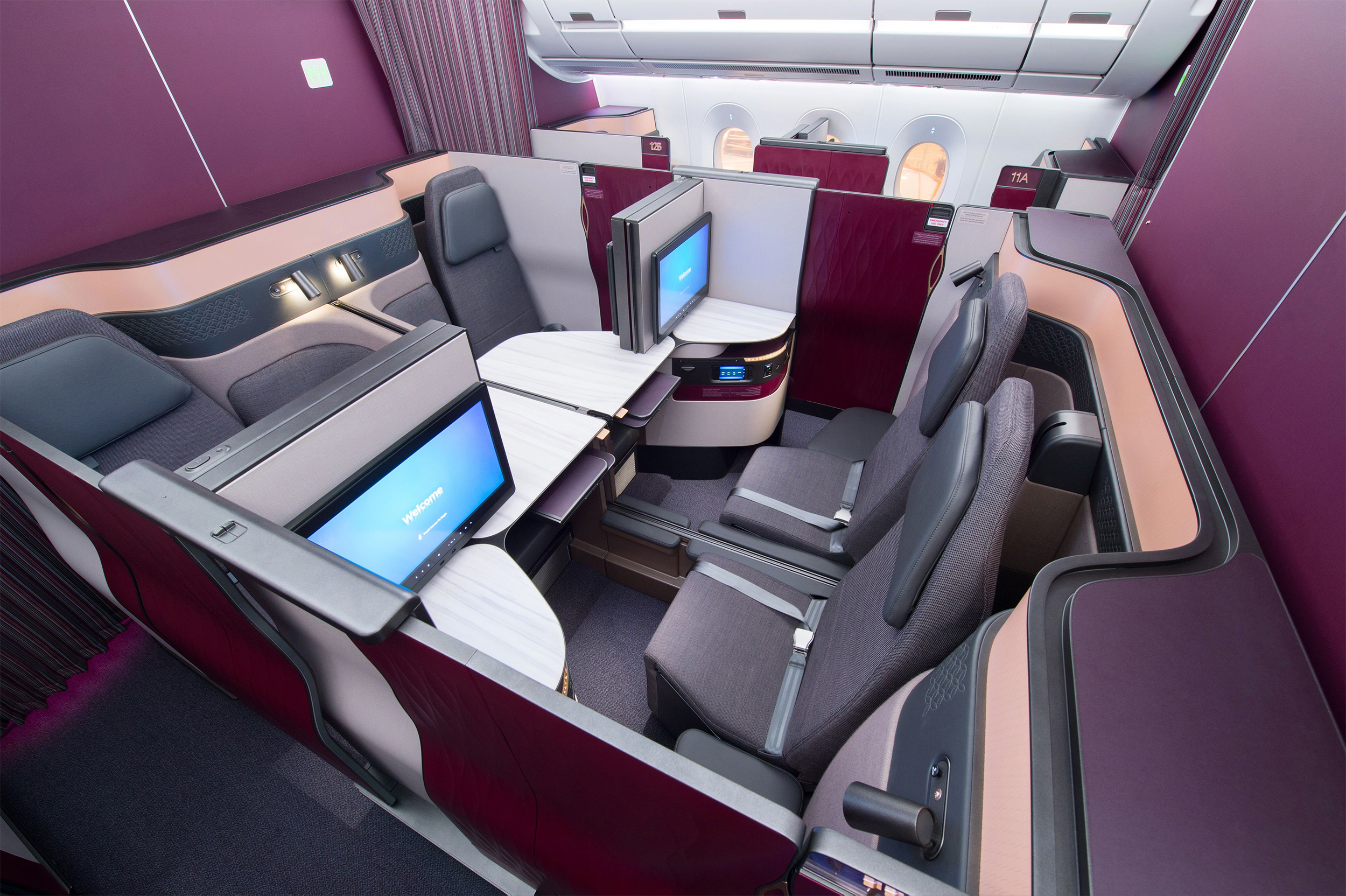 Qatar S Qsuite Is Coming To Singapore Mainly Miles
