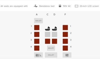 Suites Seat Map