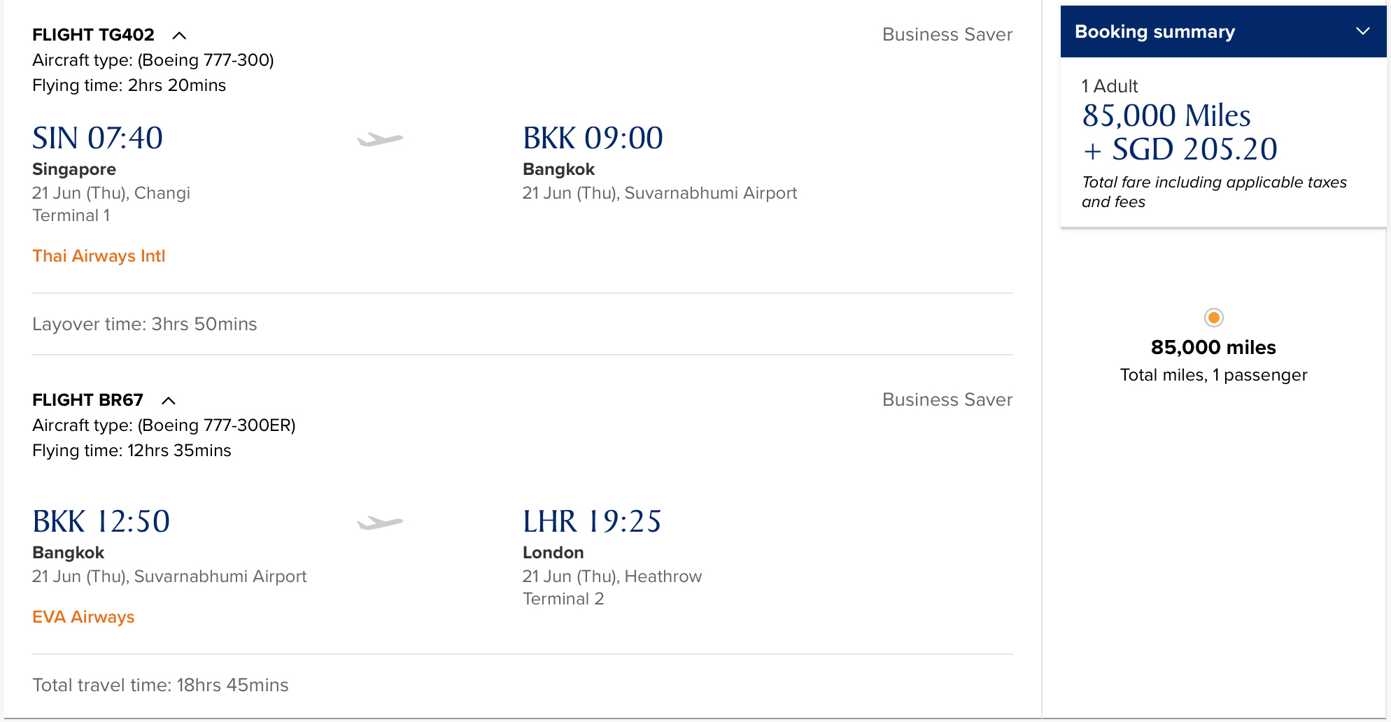 Is there still value in the KrisFlyer Star Alliance award ...