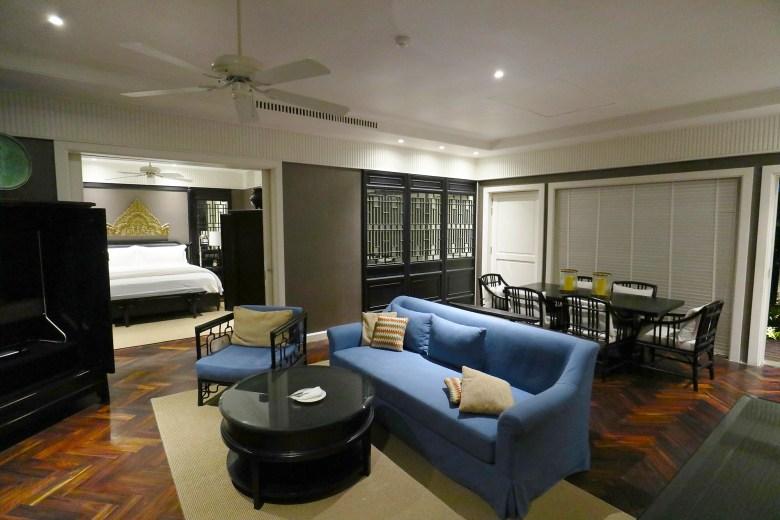 2 Bed Villa Living Room
