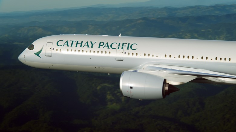 CX A350 (Cathay Pacific)