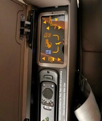 Seat Controls