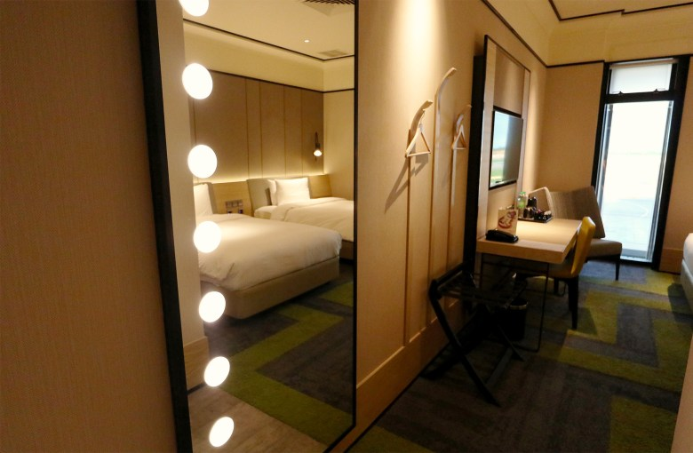 Mirror into Bedroom