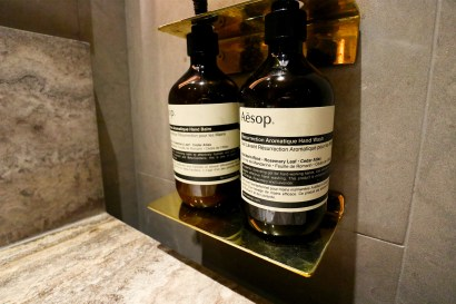Aesop Toiletries. (Photo: MainlyMiles)