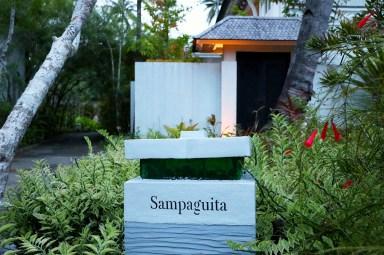 Each villa has a name. (Photo: MainlyMiles)