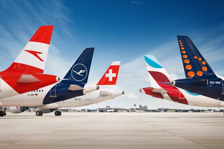 Lufthansa Group Tails (Lufthansa)