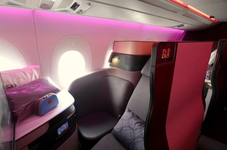 Seat 8J