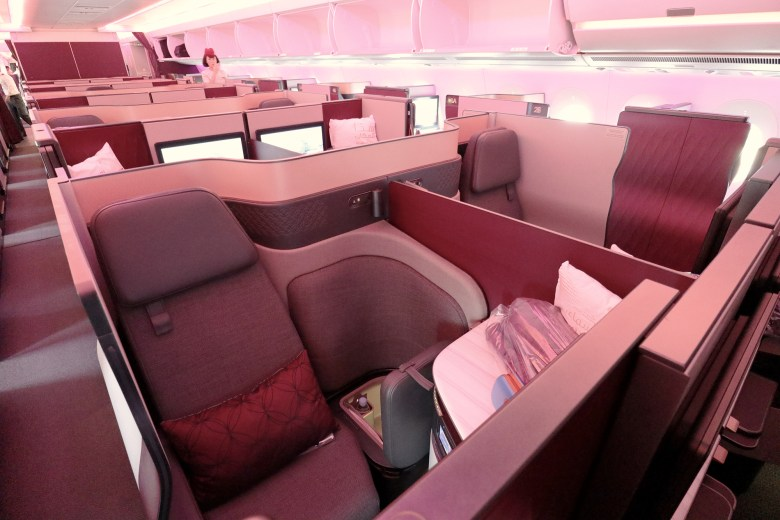 Seats 2D-2G
