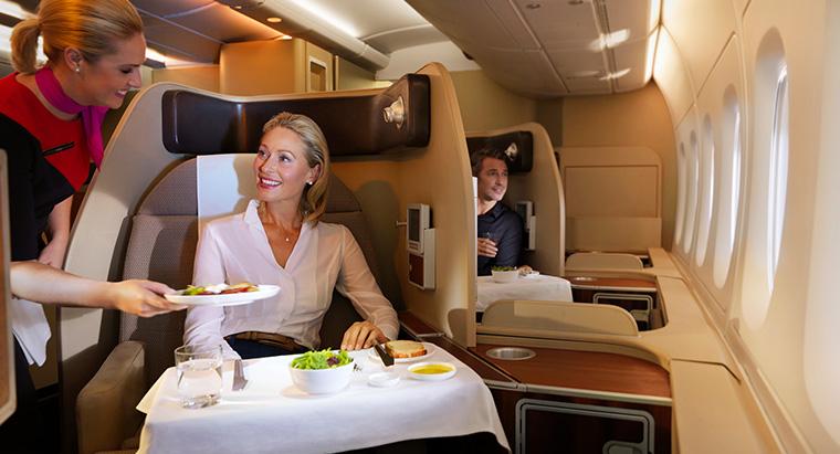 Qantas A380 First (Qantas)