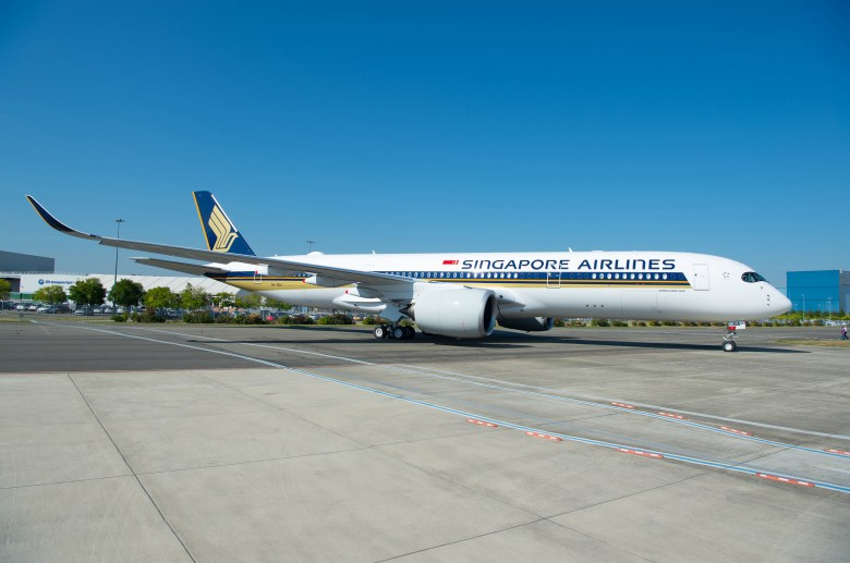 A359ULR Delivery 1 (Singapore Airlines)