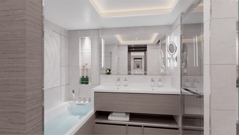 Loft Suite Bathroom (The Ritz-Carlton Yacht Collection).jpg