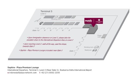 Lounge Map (Plaza Premium)
