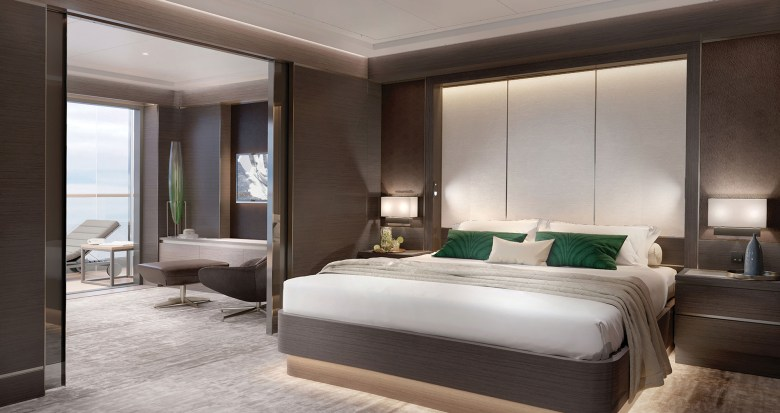 The Grand Suite_Bedroom (The Ritz-Carlton Yacht Collection)